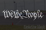 We the People V1 Decal