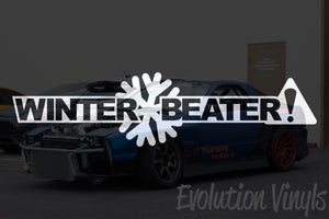 Winter Beater V1 Decal