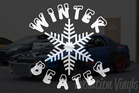 Winter Beater V2 Decal