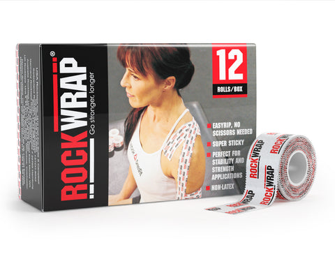 "RockWrap - 12 Pack (1"" Rigid Tape)"