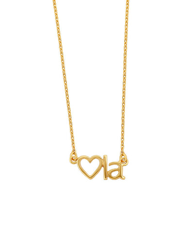 Heart LA Necklace