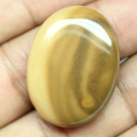 48.75ct, 32x24x8mm, Polka Dot Agate 100% Natural Loose Cabochon Gemstone - Jewels Exports