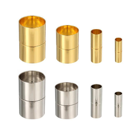 10 Magnetic Clasps Cylinder Design - Jewelry Making - Jewels Exports