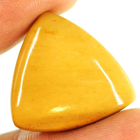 21.4 ct. 23 x 23 x 5.5mm Loose Trillion Cabochon Mookaite Jasper Gemstone