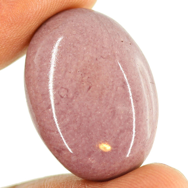 29.3 ct. 27 x 20 x 7mm Loose Oval Cabochon Mookaite Jasper Gemstone