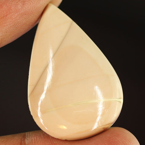 36.5 ct. 37 x 25 x 6mm Loose Pear Cabochon Imperial Jasper Gemstone