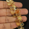 Golden Citrine Smooth Pear Drops Briolette - 9.5 inches - 5mm - 14mm - Jewels Exports - 2