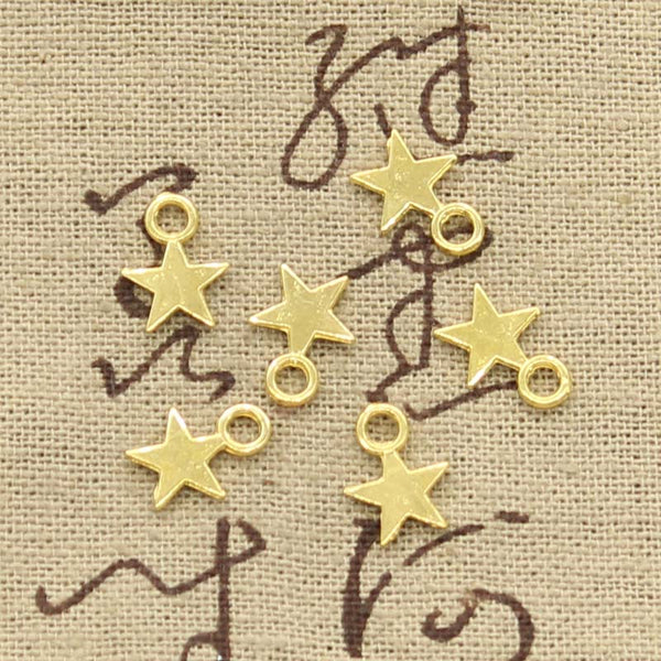 15 Star Charms Pendant 11mm x 8mm - Jewels Exports