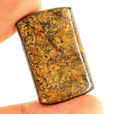 56.95ct Natural Yellow Bronzite Loose Gemstone Cushion Cushion Cabochon - Jewels Exports