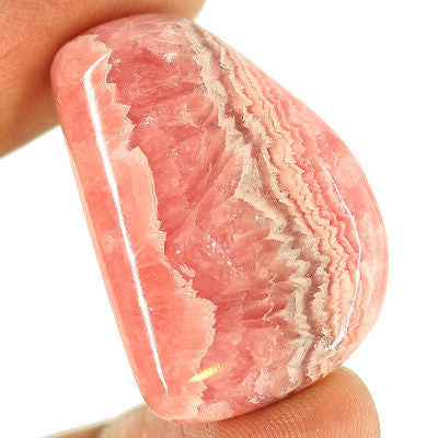 89.7ct Natural Pink Rhodochrosite Loose Gemstone Fancy Amazing Cabochon - Jewels Exports