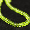 AAA Quanltiy Arizona Peridot Smooth Rondelle Beads - 13 Strands - 7 Inch Each - 5mm to 7 mm - Jewels Exports - 4