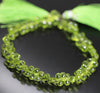 Arizona Peridot Faceted Tear Drop Briolette Beads Strand - 9 Inch - 5mm 6.5mm - Jewels Exports - 2