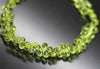 Arizona Peridot Faceted Tear Drop Briolette Beads Strand - 9 Inch - 5mm 6.5mm - Jewels Exports - 1