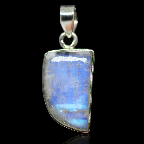 Rainbow Moonstone Sterling Silver Pendant 3019PD - Jewels Exports