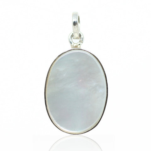 Mother of Pearl Sterling Silver Pendant 3007PD - Jewels Exports
