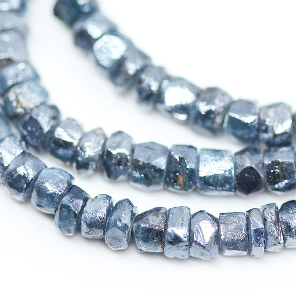 Mystic Kyanite Faceted Rondelle Beads, 8 inches, 4mm, SKU10504M - Jewels Exports - 1