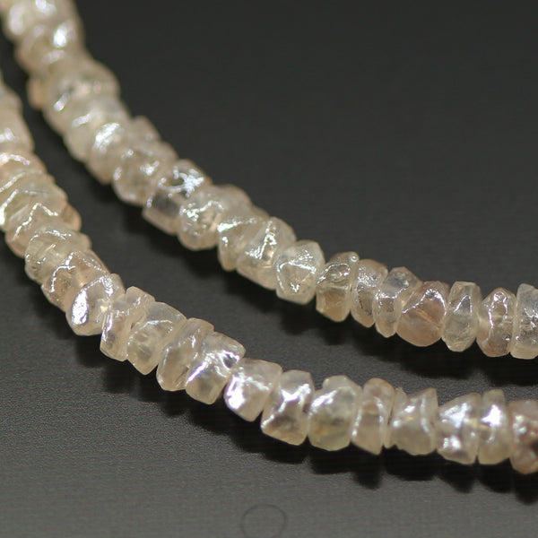 Mystic Zircon Faceted Rondelle Beads, 4 inches, 3mm, SKU10678 - Jewels Exports - 1