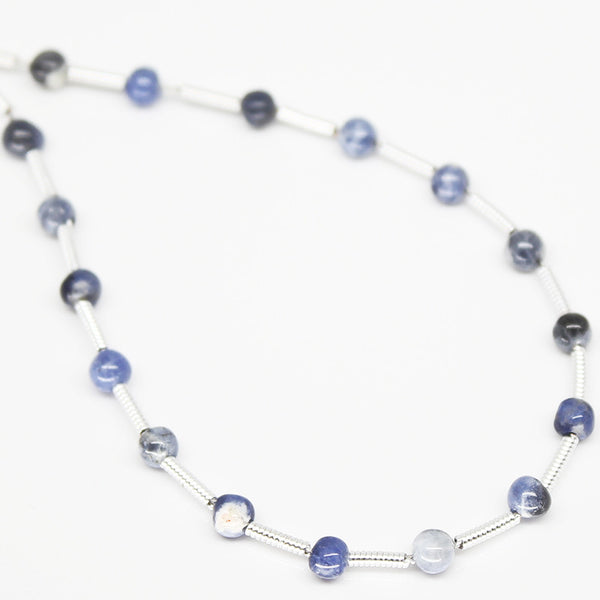 Sodalite Smooth Round Ball Beads, SKU/N - Jewels Exports - 1