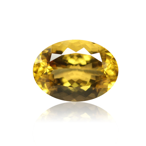 AAA Golden Citrine Oval Gemstone, 18x13mm, 1 pc, SKU2131A - Jewels Exports