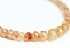 Red Sunstone Micro Faceted Rondelle Beads, 5-8mm, 7.5 inches, SKU1299AB/M - Jewels Exports - 2