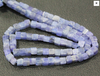 Tanzanite Smooth Polished Box Beads Strand, 6 beads, 3-4mm, SKU1755/M - Jewels Exports - 2