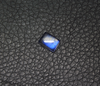 Rainbow Blue Moonstone Smooth Oval Cabochon, 1 Gem, 8x6x3mm, SKU/5127 - Jewels Exports - 1