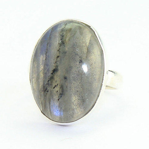 Labradorite Sterling Silver Ring SKU1263S - Jewels Exports