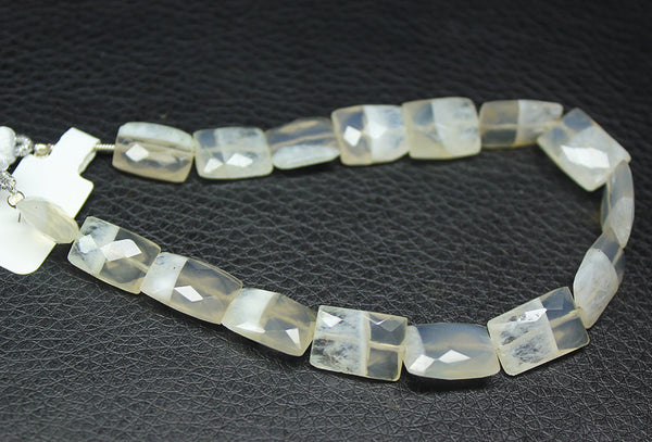 Bi Solar Quartz Faceted Rectangle Beads, 14-18mm, 8 inches, SKU912 - Jewels Exports