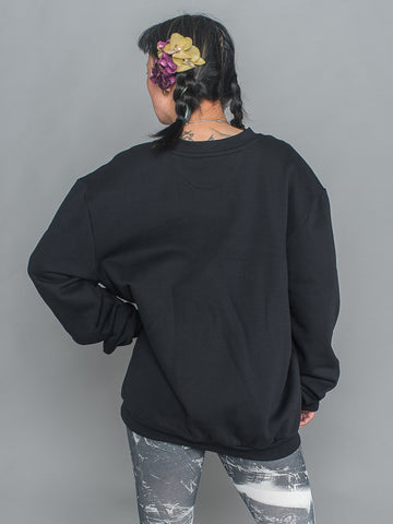 Corin Sweater Sweatshirt made from 100% Organic Cotton in black
