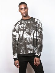 Corin Sweater Sweatshirt made from 100% Organic Cotton in london print