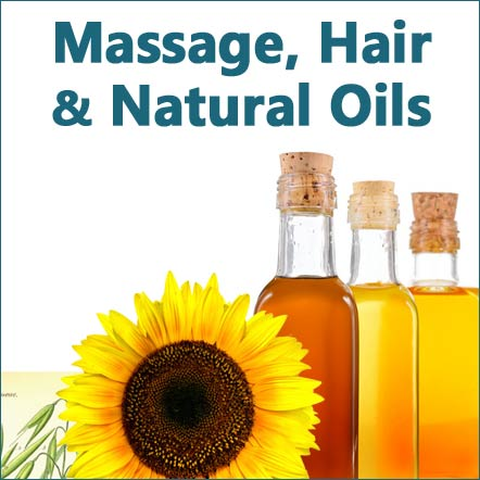 ayurvedic and natural massage and carrier oils
