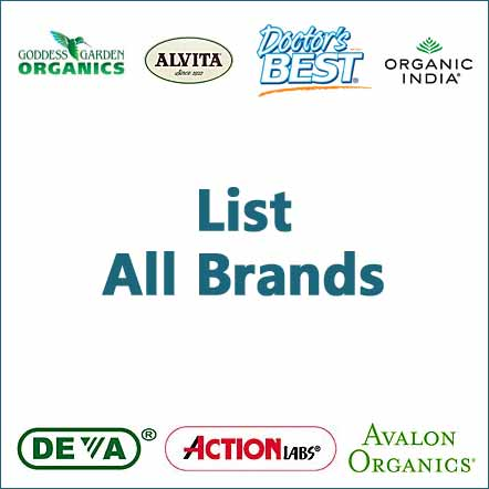 brands and vendors of herbs supplements and natural remedies