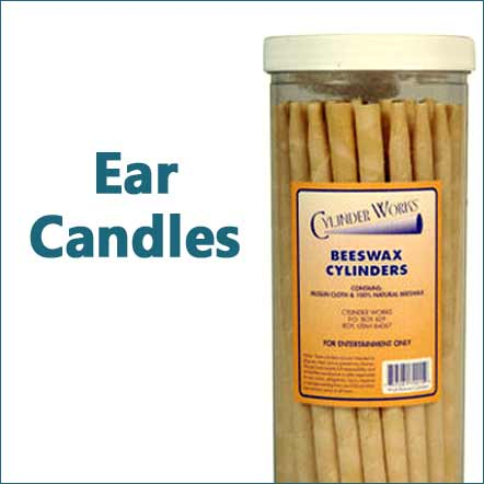 ear candles parrafn and beeswax
