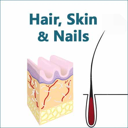 image for natural products healthy hair skin and nails