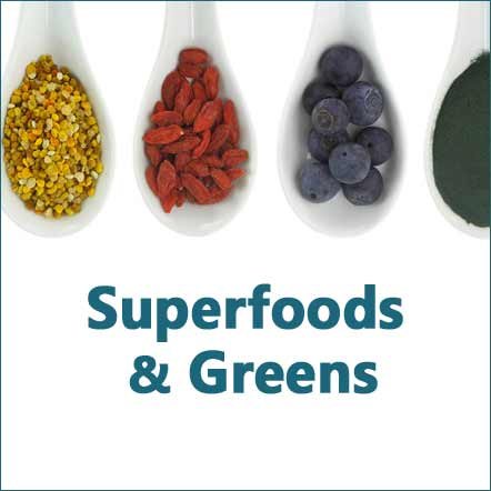 superfoods and greens photo