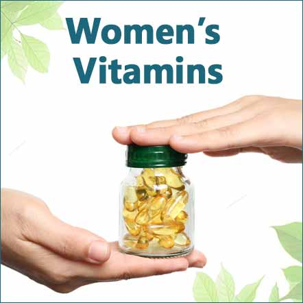 women's vitamins and multivitamins image