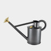 Haws Traditional Metal Watering Can 5 litre | Graphite