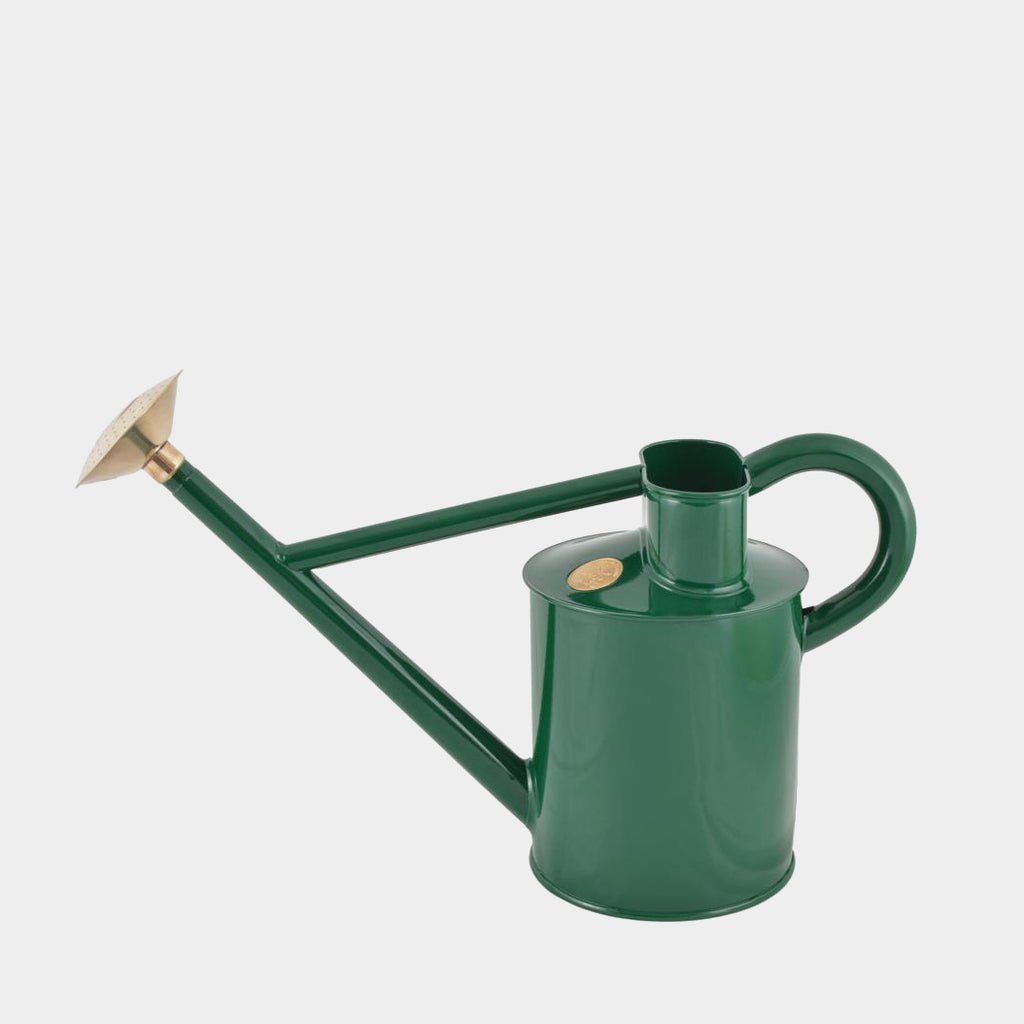 Haws Traditional Metal Watering Can 5 litre | Green