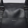 Sandqvist Frans Leather Weekend Bag - Black