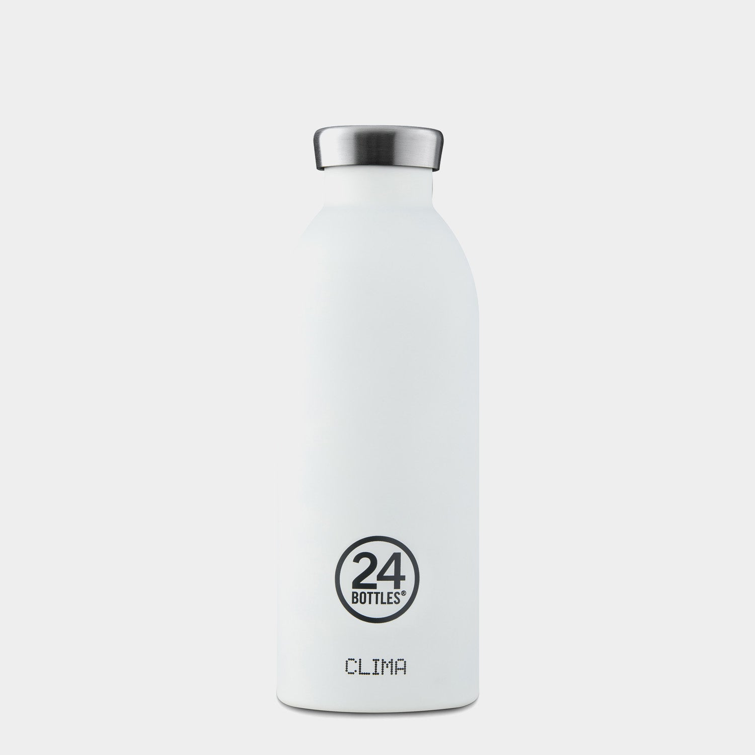 24Bottles Ice White Clima Bottle - 500ml