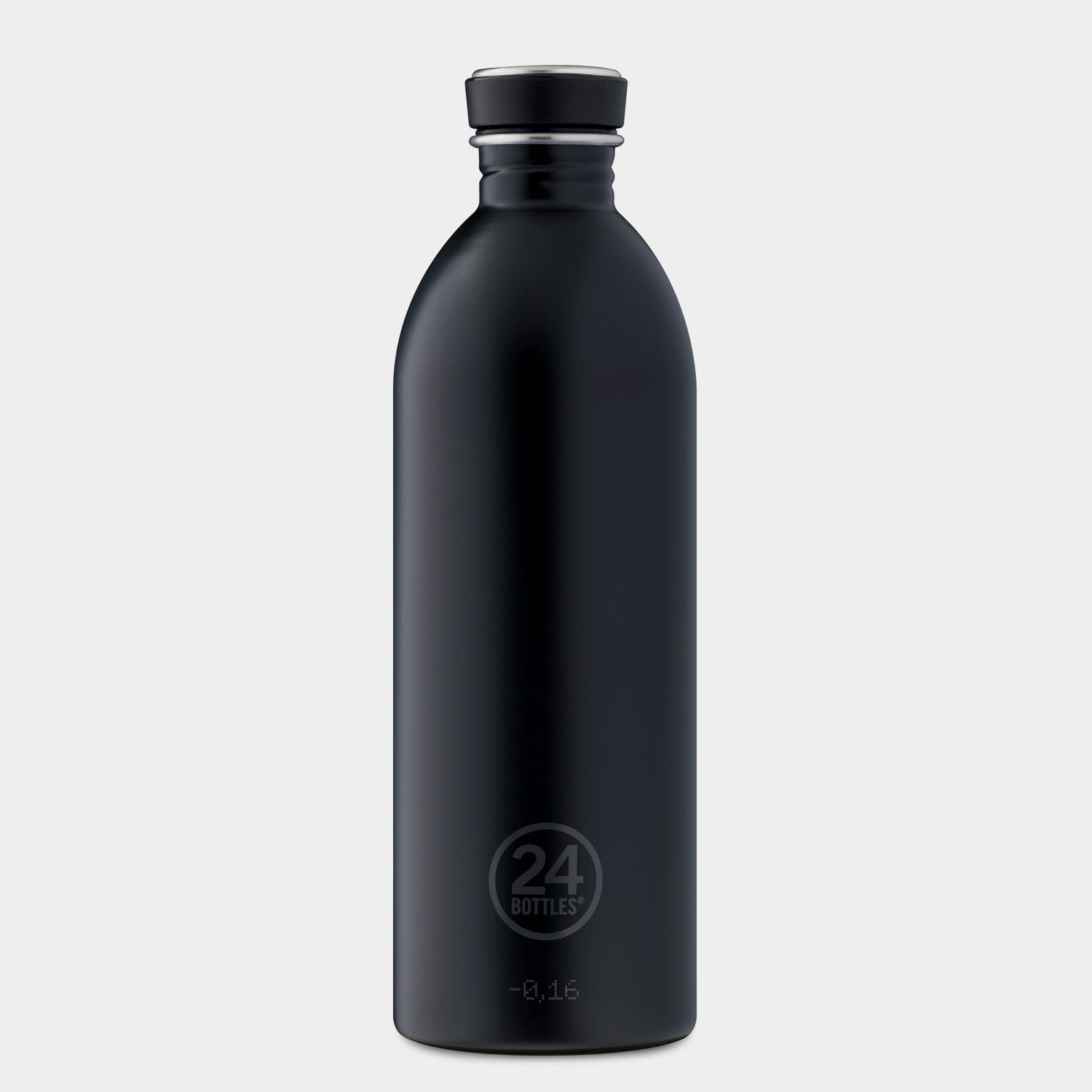 24Bottles Tuxedo Black Urban Bottle - 1L