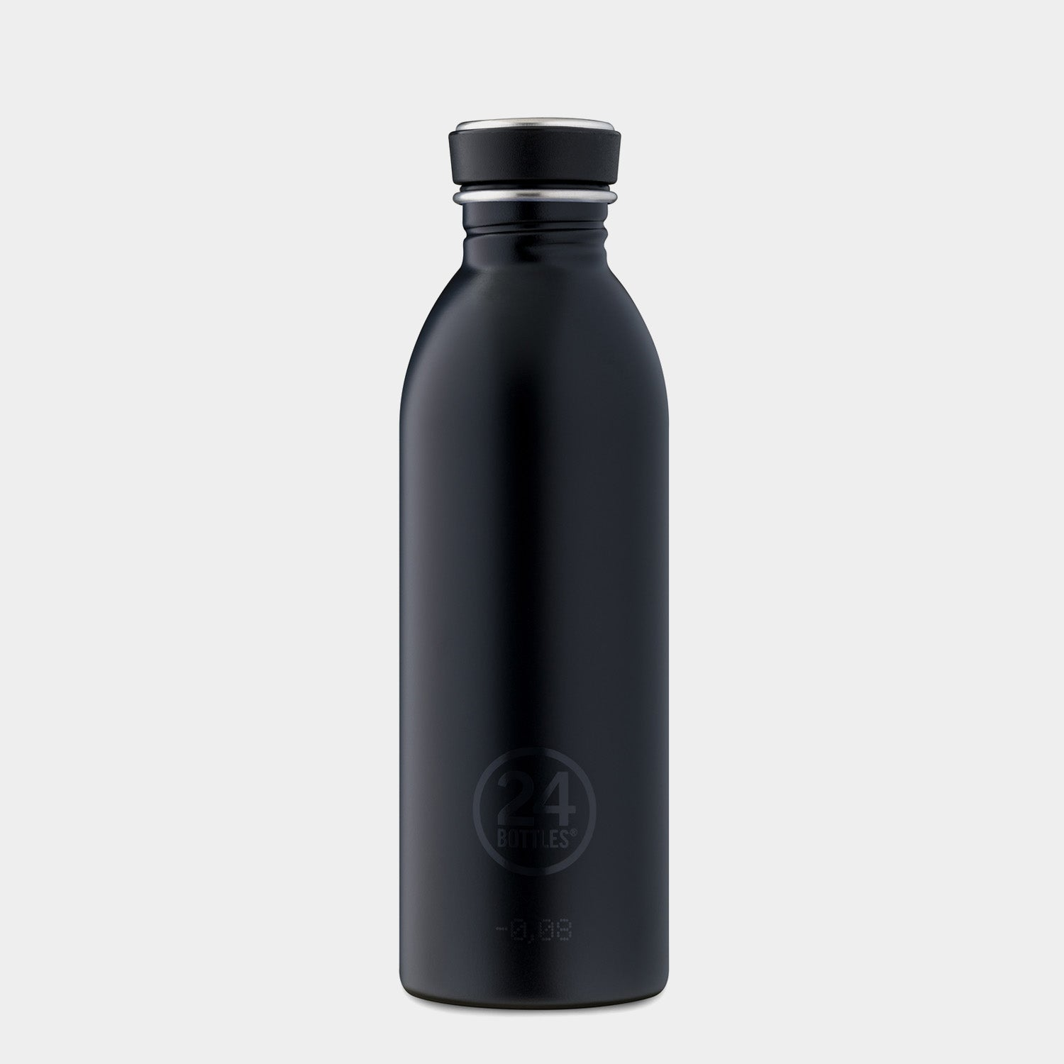 24Bottles Tuxedo Black Urban Bottle - 500ml