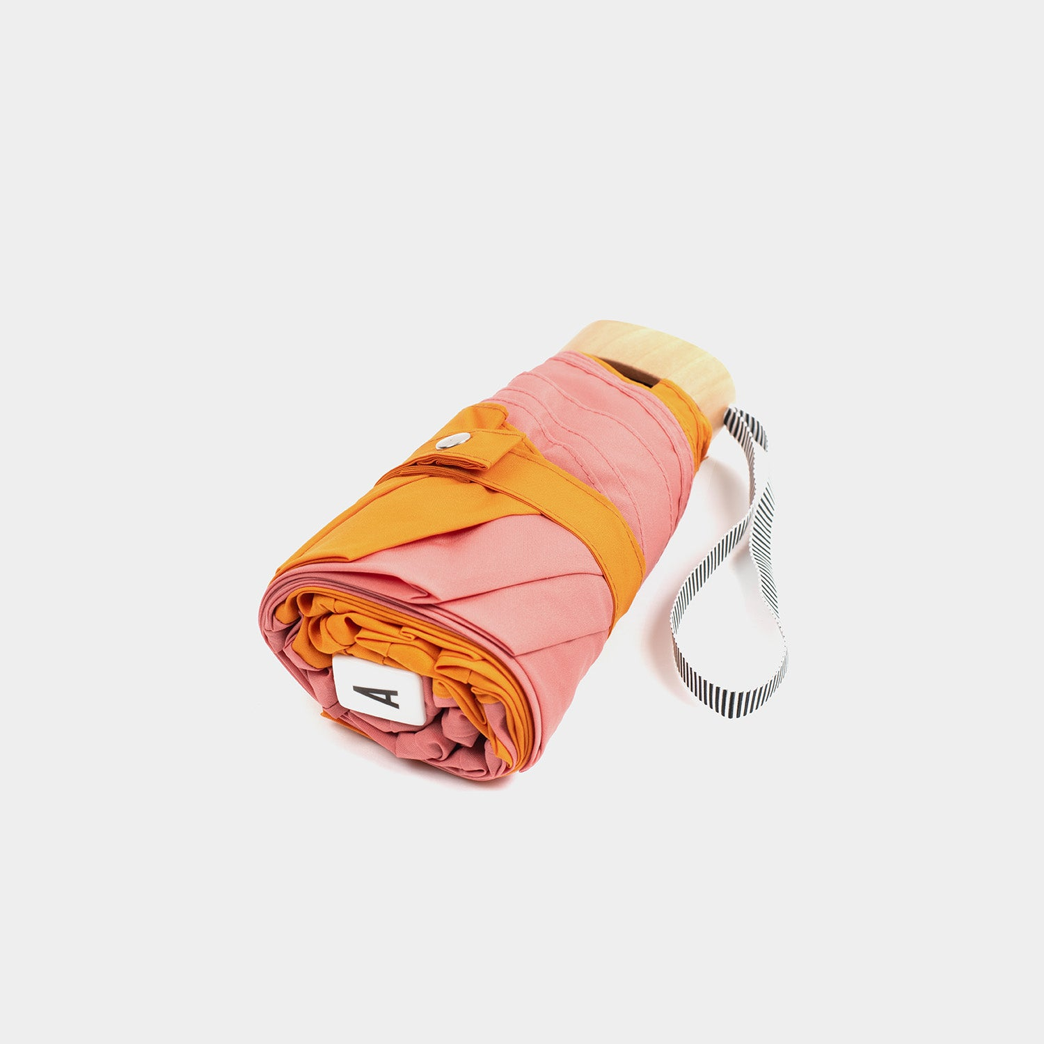 Anatole Micro Umbrella - Pink and Orange