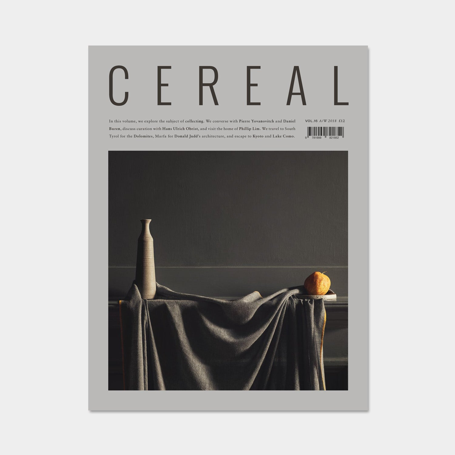 CEREAL Magazine Volume 16 - A/W 2018