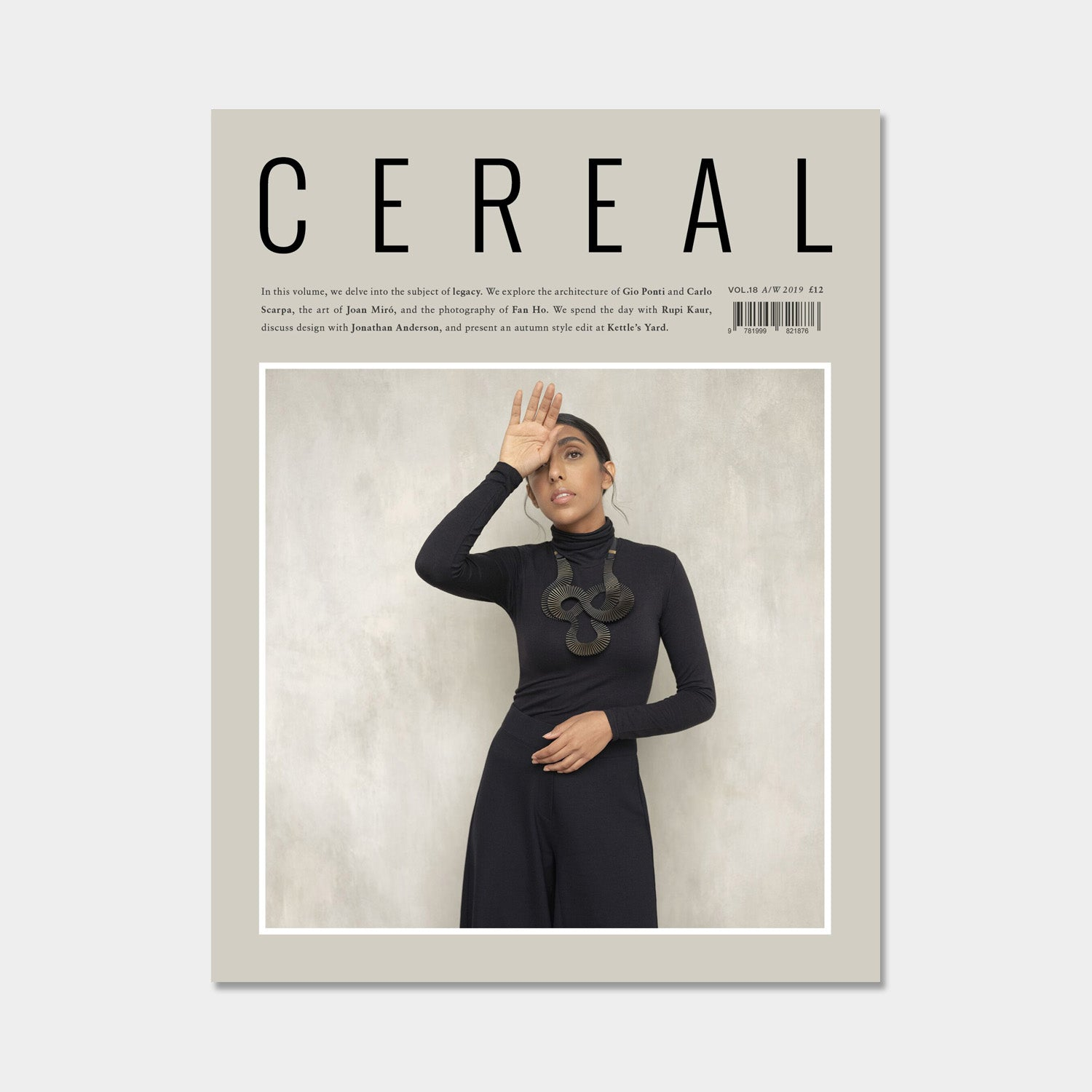 CEREAL Magazine Volume 18 - A/W 2019