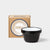 Falcon Original Enamel 12cm Bowls - Coal Black - Set of Four