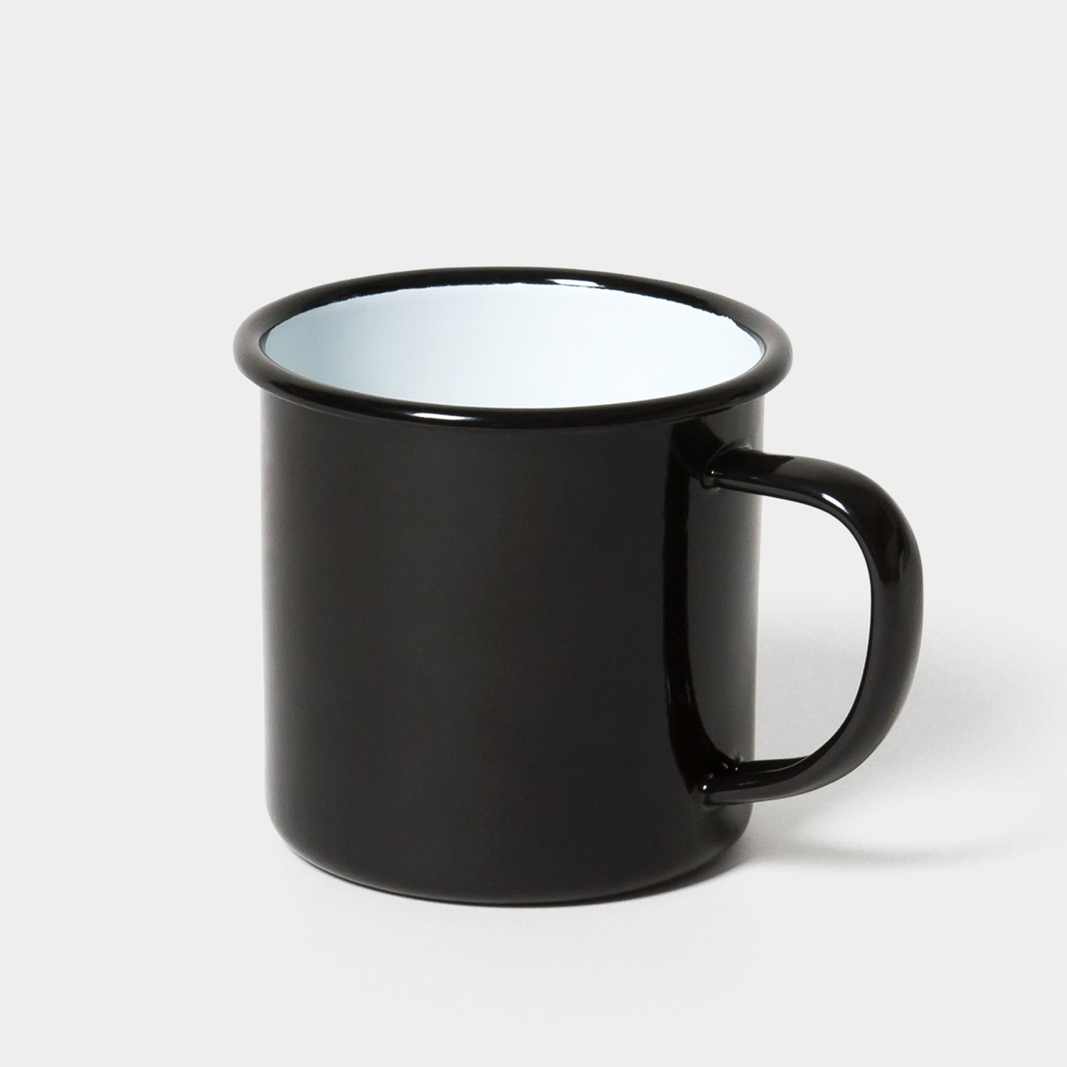 Falcon Original Enamel Mug - Coal Black