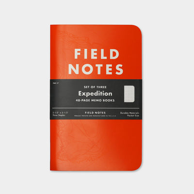 Field Notes Expedition Edition 3 Pack