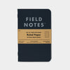 Field Notes Pitch Black Ruled 3 Pack