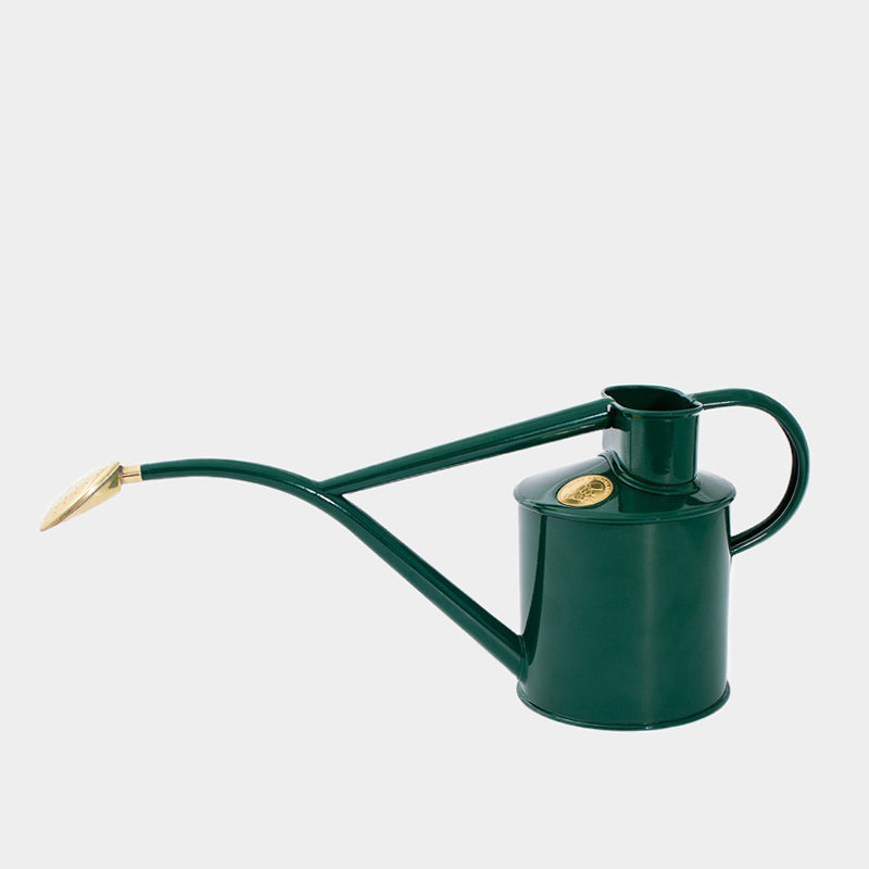 Haws Indoor Metal Watering Can 1 Litre | Green